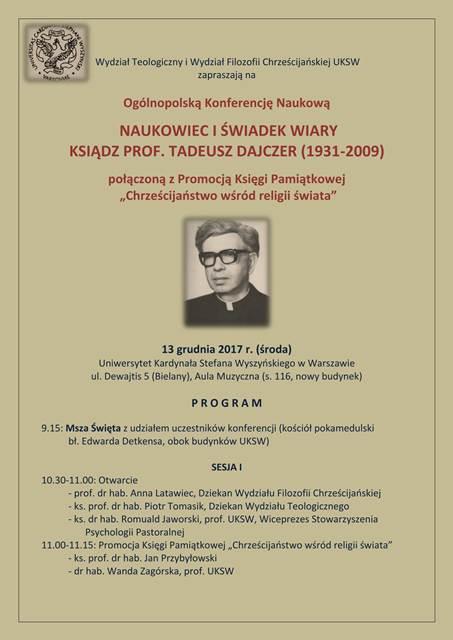 NAUKOWIEC I SWIADEK WIARY-1